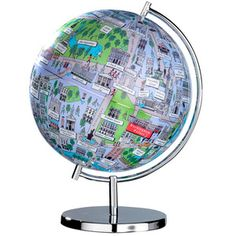 Globe of London L, £23, now featured on Fab.