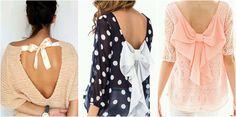 Camisetas con lazos en la espalda para looks muy femeninos, ¿te apuntas?