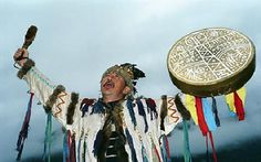 Altaian shaman