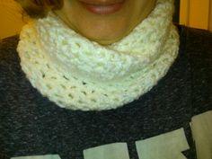 Cuello crochet mujer