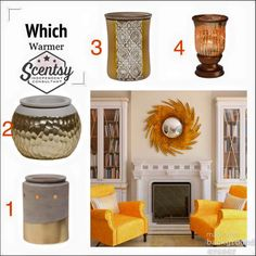 Which Scentsy warmer would you choose?