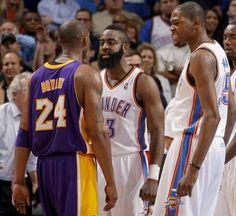 ... NBA basketball finals in Oklahoma City