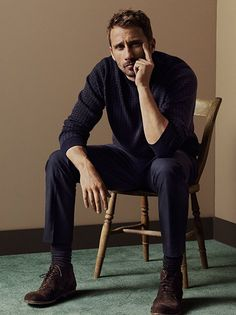 Matthias Schoenaerts Sits for Mr Porter, Talks The Danish Girl