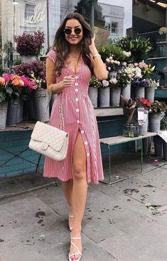 Vestido Midi: Descubra looks perfeitos para arrasar nas festas e no dia a dia! Classy Outfits, Stylish Outfits, Cute Dresses, Casual Dresses, Elegant Summer Dresses, Trendy Dresses, Sexy Dresses, Formal Dresses, Curvy Women Fashion