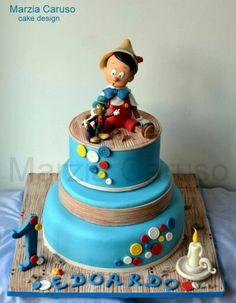 Pinocchio Cake - Marzia Caruso
