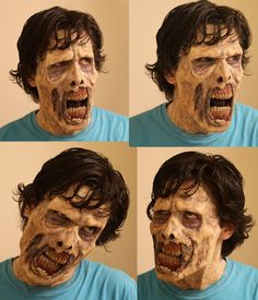 Awesome zombie make-up