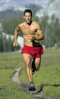 Dean Karnazes: ultramarathoner, writer, and motivational speaker!  I read two of his books twice, he's *that good.*