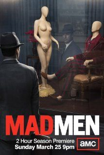 AMC has released the official poster for the fifth season of its hit television series 'Mad Men'. The poster features Don Draper, played by Jon Hamm, peering into a store window where two mannequins are re-enacting married life. Movies And Series, Movies And Tv Shows, Mad Men Season 5, Serie Du Moment, Mad Men Don Draper, Mad Men Poster, John Slattery, Advertising History, Advertising Agency