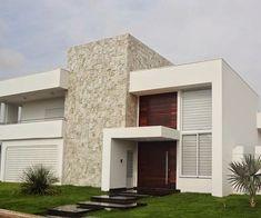 Veja mais de 100 modelos de casas modernas para todos os gostos e bolsos. Casa pequenas, grandes, baratas e lindas. ACESSE e veja os projetos. #casasmodernasfachadasde #casaspequeñasmodernas #casasmodernaspequenas
