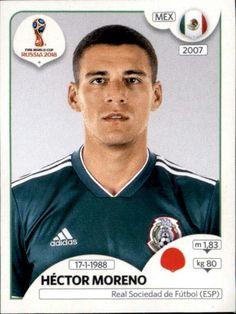 Héctor Moreno - Mexico Brazil World Cup, World Cup Russia 2018, World Cup 2018, Fifa World Cup, Brazil Players, Brazil Football Team, Football Stickers, Football Cards, Baseball Cards