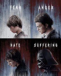 The tragedy of Anakin Skywalker