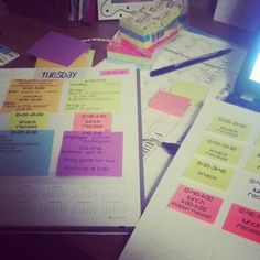 O-H So Blessed!: Erin Condren + post-its = LOVE!