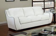 Global Furniture Sofa GL-U8080-WHT-SF