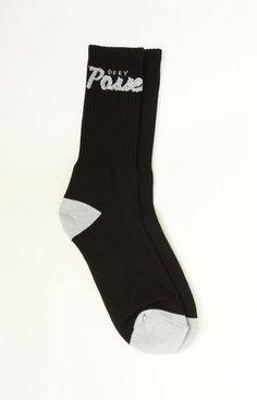 OBEY, Posse Socks - Black