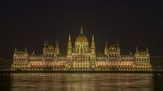 Hungarian Parliament Building Night #budapest #parliament @joan