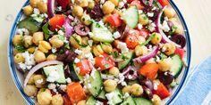 Chickpea Mediterranean Salad horizontal