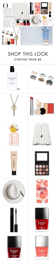 """""""Strength"""" by nclarke-evelyn on Polyvore featuring Vanity Fair, Bobbi Brown Cosmetics, Miss Selfridge, The Giving Keys, MANGO, Sigma, Calypso Private Label, Kate Spade, Gucci and Butter London"""