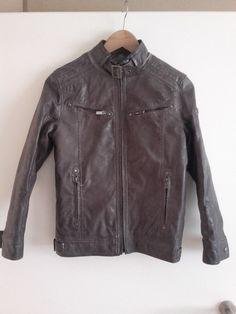 Superbe veste en cuir Tony Enzo taille 1 homme marron Vinted