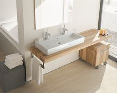 duravit fogo. Like the double faucet sink for kids.