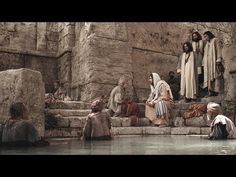 Jesus heals the lame man. The lame man in this movie is my Uncle Tom. So Cool!