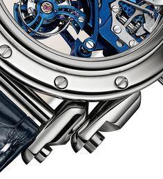 Manufacture Royale Androgyne Royale Skeleton Tourbillon - Royale Blue - case…