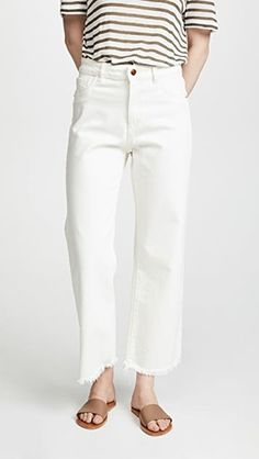 Le Fashion: The Best Off-White Jeans to Complete Your Spring Wardrobe