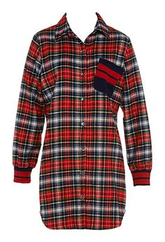 Image for Tartan Bf Nightshirt from Peter Alexander