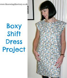 Sew yourself this boxy dress or shorten to make a boxy top - no pattern required! Dress Sewing Patterns, Sewing Patterns Free, Free Sewing, Sewing Clothes, Dressmaking, African Fashion, Dress Skirt, Sewing Projects, Clothes For Women