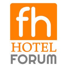 Nuovo logo Forum Hotel San'Ilario D'Enza -  www.forumhotel.it