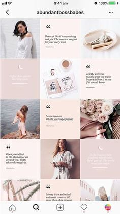 Beautiful logos, web design kits and watercolors by SwitzerShop Instagram Design, Layout Do Instagram, Flux Instagram, Instagram Hacks, Photo Pour Instagram, Feed Do Instagram, Insta Layout, Instagram Feed Ideas Posts, Instagram Grid