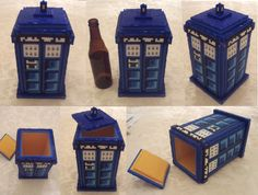 deviantART: More Like Hama Bead Tardis by ~lwordish Perler Bead Designs, Hama Beads Design, Diy Perler Beads, Perler Bead Art, Pony Bead Patterns, Hama Beads Patterns, Beading Patterns, Doctor Who Craft, Beaded Boxes