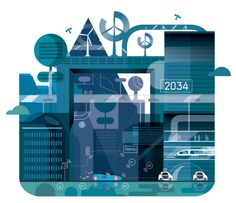 Illustrations made for Traffic Technology International 2014