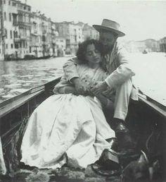 feuille-d-automne:  Jean-Louis Forainet Jeanne Bosc à Venise .                                                                                                                                                                                 Más