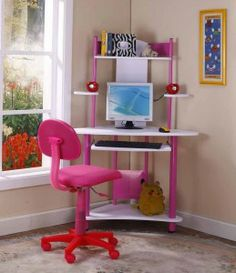 Make Your Children Creative with Supporting Childrens Desks: Childrens Desks Pinky ~  Design Inspiration