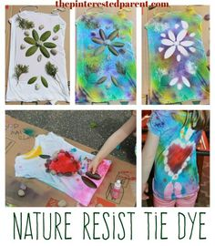 Nature Resist Tie Dy