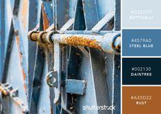 101 Color Combinations to Inspire Your Next Design – Rust Color Palette