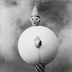 Woman In Egg - Rodney L. Smith