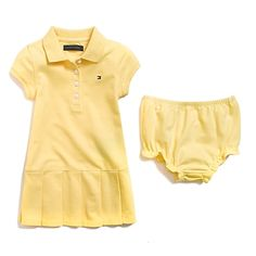 Tommy Hilfiger Baby Girls Essential Polo Dress S//S