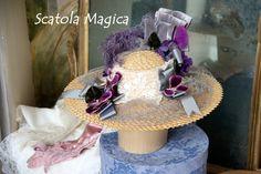 Cappello stile Belle Epoque, by Scatola Magica