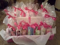 "This was the ""prize station"" I made for baby shower game winners! ® Niki"