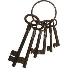 Medieval Dungeon Key Set - JKR-4 by Medieval Collectibles