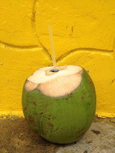 Delicious fresh coconut!
