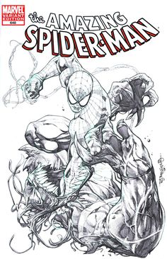 Spidey Vs Venom by sjsegovia.deviantart.com on @deviantART