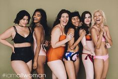 Smiling away: The campaign includes a gorgeous unretouched photo shoot…