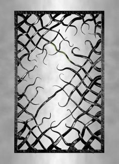 The gate of all roots Metal Gates, Wrought Iron Gates, Metal Worx, Blacksmith Projects, Bar Art, Forging Metal, Iron Art, Iron Decor, Metal Projects