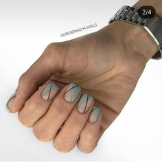 This series deals with many common and very painful conditions, which can spoil the appearance of your nails. SPLIT NAILS What is it about ? Nails are composed of several… Continue Reading → Minimalist Nails, Green Nails, Pink Nails, Cute Nails, Pretty Nails, Hair And Nails, My Nails, Nail Polish, Gel Nail