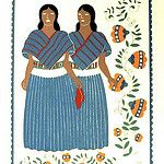 Otomi Women Carlos Merida by Teyacapan
