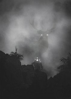 Intriguing Black & White Illustrations by Dawid Planeta | Inspiration Grid | Design Inspiration