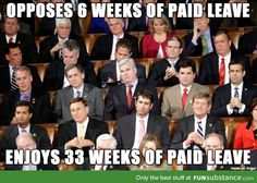 Congress Opposes 6 weeks of Paid Leave, yet enjoys 33 weeks of Paid Leave