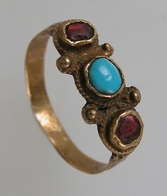 Finger Ring   Date: 7th century Geography: Made in, Northern France Culture: Frankish